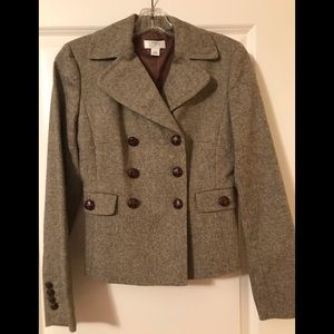 Ann Taylor Loft wool blazer size 0